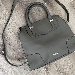 Rebecca Minkoff Crossbody Leather Gray Handbag